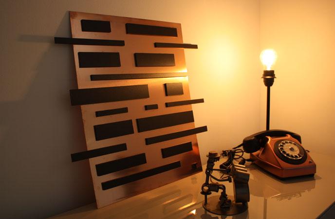 Lampe Socotel cuivre by ArtJL