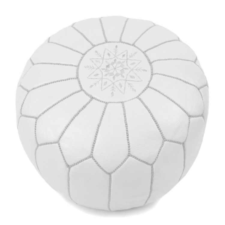 httpwww.baboucheshop.compoufs-marocain-en-cuir285-pouf-design-marocain-en-cuir-blanc-broderie-blanche.html